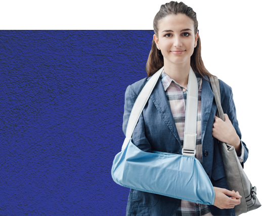 personal injury-broken arm