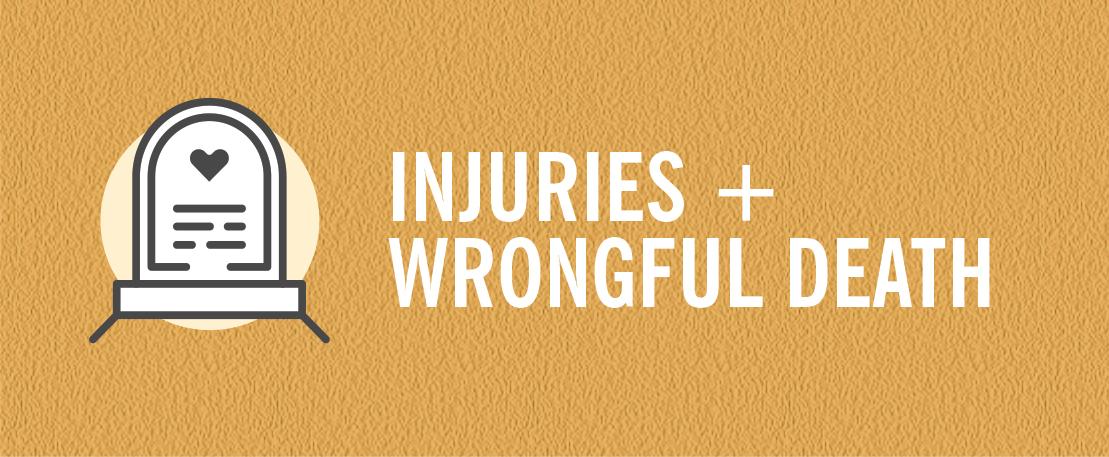 Injuries & Wrongful Death hotlink