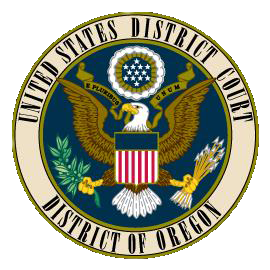 US District Court Oregon logo