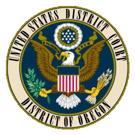 US District Court Oregon logo